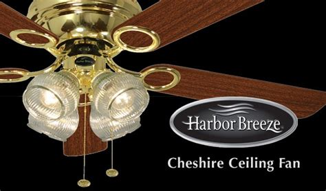 harbor breeze fan manufacturer harbor breeze cheshire ceiling fan