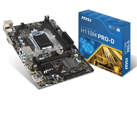 Msi H110m Pro D Motherboard best gaming motherboards simplified review for every gamer