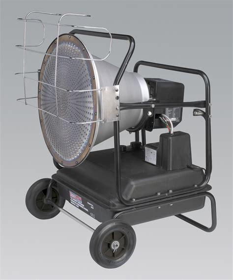 sealey ir 37 infared paraffin diesel heater ir37 garage ebay