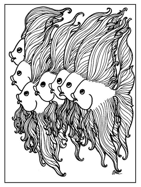 advanced fish coloring pages coloring page fancy fish coloring pages of fish coloring