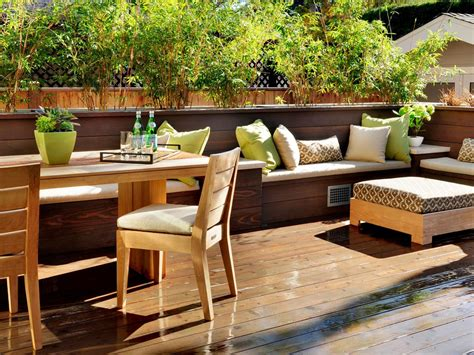 outdoor banquette deck design ideas outdoor spaces patio ideas decks