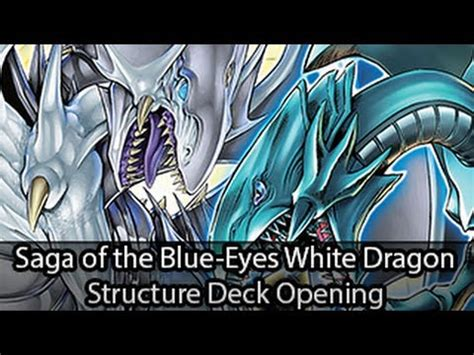 saga of blue white deck saga of the blue white structure deck opening