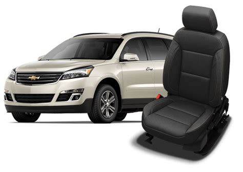 chevy traverse car seat covers chevy traverse leather seats interiors seat covers