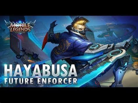 Mobile Legend Hayabusa The Blues tips n trick hayabusa setelah nerf dan gear guide