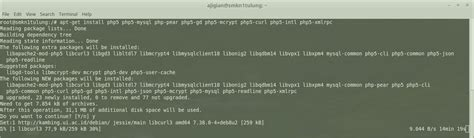tutorial php pear tutorial install php my admin puthutdewi rpl
