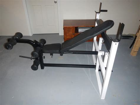 light bench press northern lights olympic bench press dips leg attachement