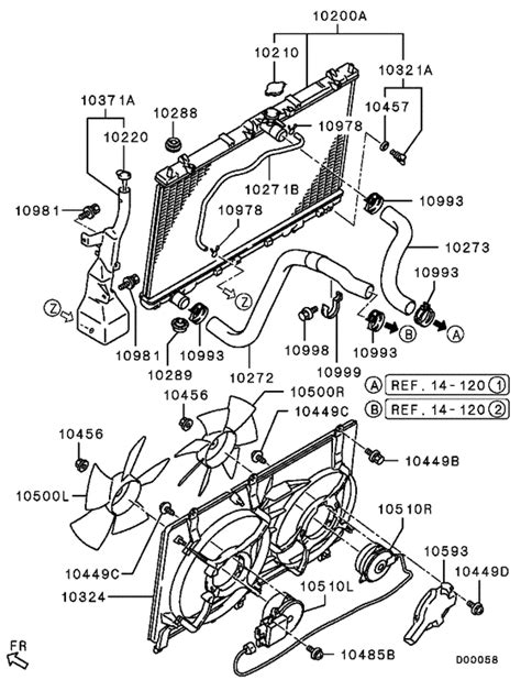 Lower Tank Mitsubishi Grandis Variasi radiator hose condenser tank for 2005 2007 mitsubishi grandis na4w japan sales region no