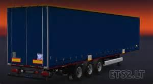 blue trailer original krone profiliner trailer ets 2 mods
