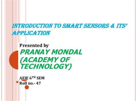 introduction to sensors books introduction to smart sensors its application