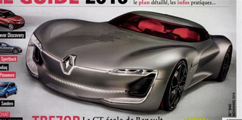 renault trezor price renault trezor concept revealed early in magazine leak
