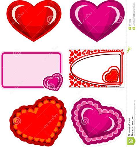 valentines sets hearts set stock photography image 22740232