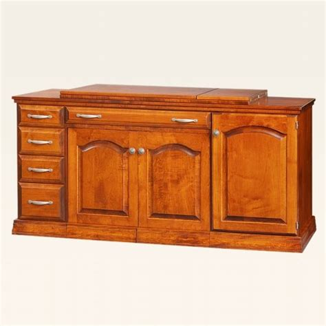 wooden sewing cabinet furniture sewing centers cabinets hardwood construction pa