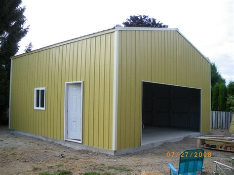 backyard garage backyard garage pro tec sheet metal