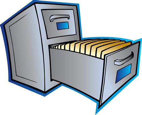 Small File Cabinet Clipart   Clipart Suggest