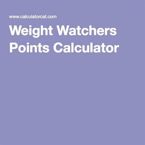 how to calculate your weight watchers points 66 best images about weight watchers on pinterest simply