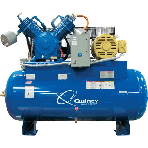quincy qt 15 splash lubricated reciprocating air compressor 15 hp 200 208 230 460 volt 3