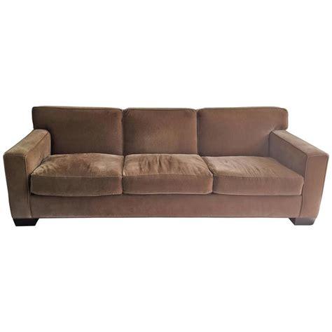 art deco style sofa art deco jean michael frank style mohair three seat sofa