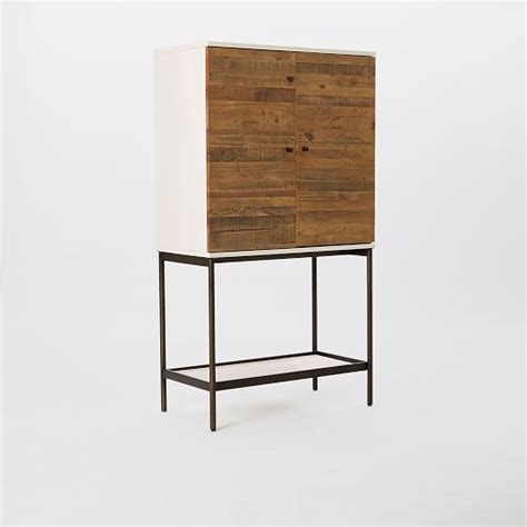 Reclaimed Wood Bar Cabinet Reclaimed Wood Lacquer Bar