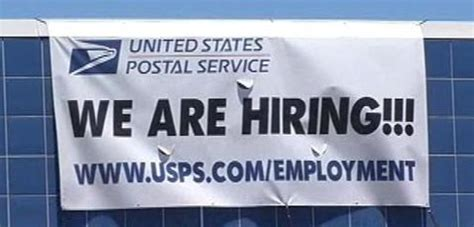 Post Office Hiring by Dead Tree Edition Why Letter Carriers Are Not An