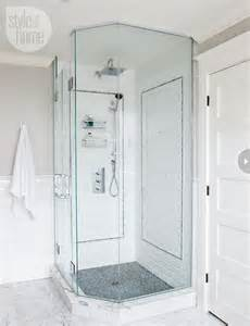 Bathroom Corner Shower Ideas Corner Shower Transitional Bathroom Style At Home