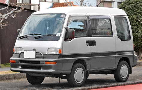 subaru domingo pin 1993 daihatsu hijet jumbo on pinterest