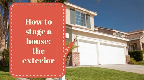 how to stage a house for sale how to stage a house for sale the exterior and entrance realmart