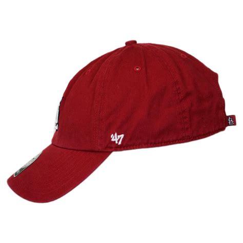 47 brand st louis cardinals mlb clean up strapback