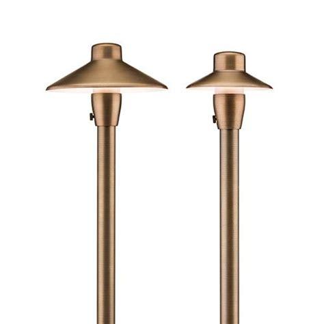 fx landscape lighting reviews fx luminaire led brass path garden light for outdoor lighting