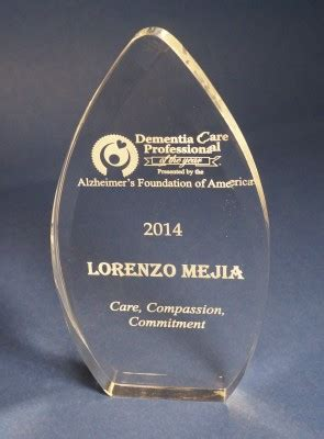 National Caregiving Foundation Sweepstakes - dementia professional of the year acorn 27514 acorn nc 27516
