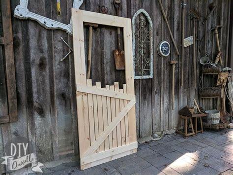 custom wood screen door diy danielle