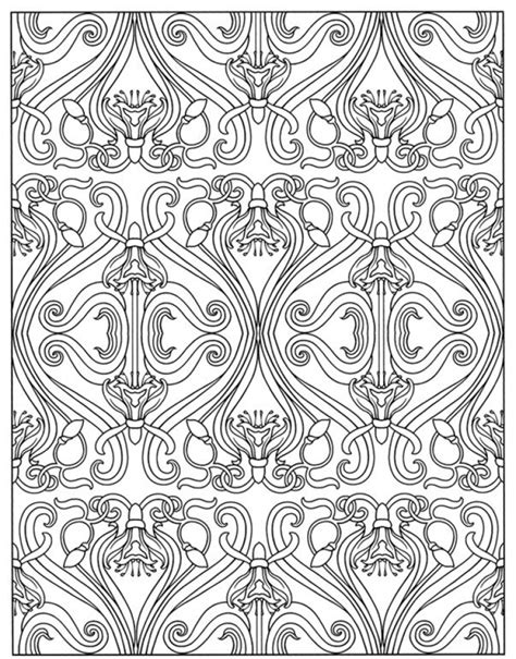 coloring pages art deco get this art deco patterns coloring pages for adults to
