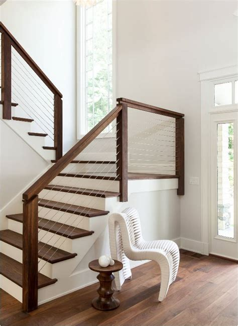 Modern Banister Rails by Best 25 Railing Ideas Ideas On Stair Railing