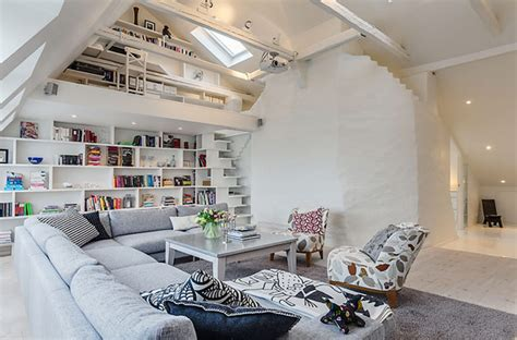 clever house design ideas clever design ideas in a lovely stockholm attic apartment