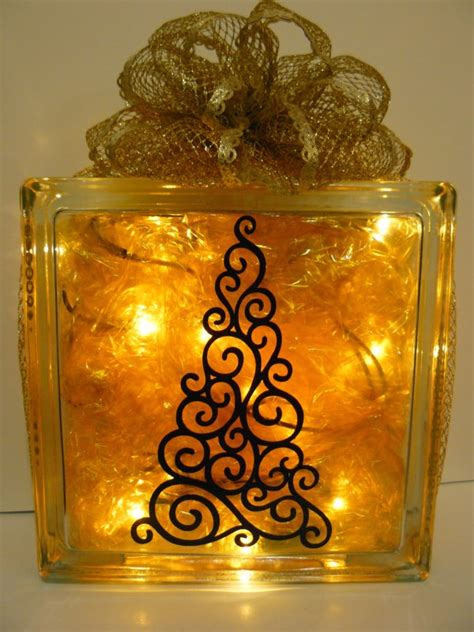 christmas ideas for glass blocks scrappin dhilly glass block