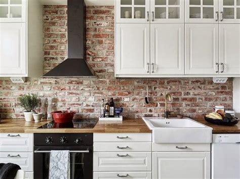 Island Kitchen Counter best 25 exposed brick kitchen ideas on pinterest brick