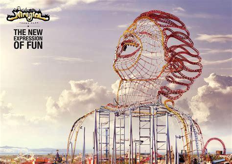 theme park advertisement 30 sensational print ads from around the world cartridge