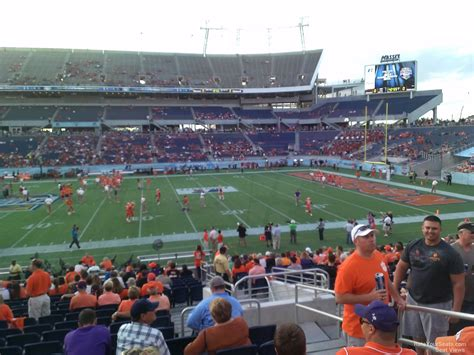 Bowl Section by Citrus Bowl Seating View