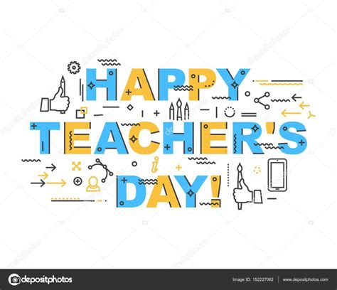 Teachers Day Card Template by Mod 232 Le De Carte Journ 233 E Enseignants Image Vectorielle