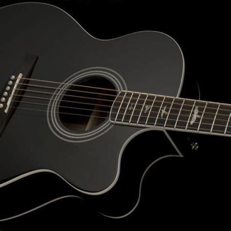 Guitar Black prs se a10e mahogany acoustic guitar black buy prs se