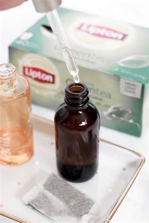 diy makeup setting spray with green tea diy green tea acne makeup setting spray
