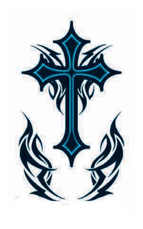 cross tattoos designs for men tribal for tattoos