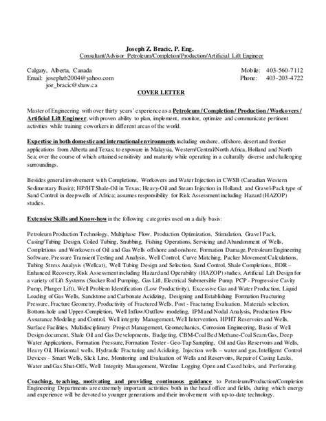 cover letter engineering consultant cover letter