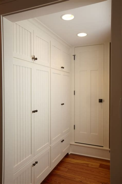 floor to ceiling storage cabinets with doors built in hall cabinets love the look may add floor to