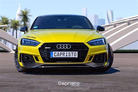 Audi Rs5 Carbon by το Audi Rs5 αποκτά Carbon Bodykit από την Capristo