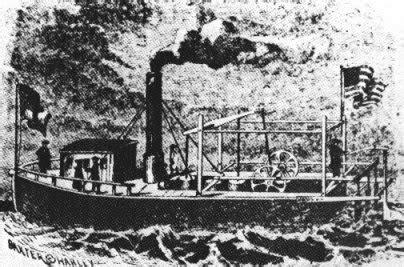 barco de vapor invento barco de vapor historia de los inventos