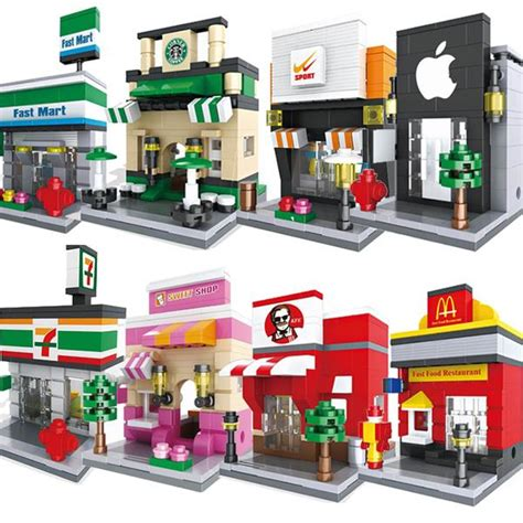 Lego Sembo Mcd By Sansipp Store lego mini shop apple 7 11 starbuck end 4 23 2016 2 15 pm