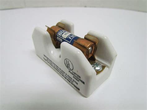 ceramic resistor holder buss 2601 non 5 30 250v ceramic fuseholder w 5 fuse 1 pole fuseblock bullseye