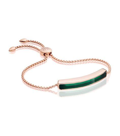 Monica vinader Baja Chain Bracelet in Pink   Lyst