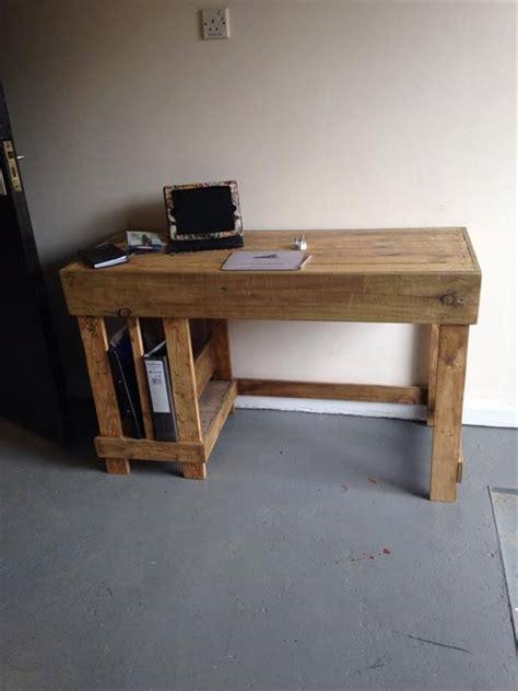 Wood Desk Ideas Unique Diy Wooden Pallet Desk Ideas Pallets Designs