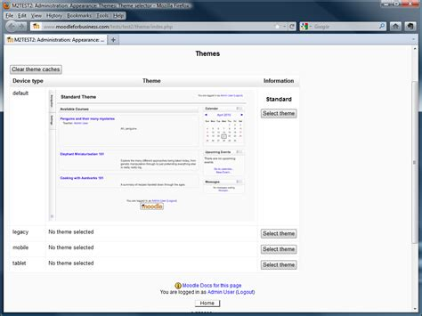 moodle theme selector blank moodle 2 themes whitepaper themes in moodle 2 some